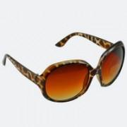 90210 California Cat-eye Sunglasses(Brown)