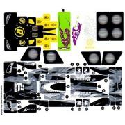 "Lego Original Sticker Sheet for Racers Set #8161 ""Grand Prix Race"" Sheet 2 of 2"