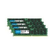 Crucial - DDR4 - 256 Go: 4 x 64 Go - module LRDIMM 288 broches