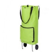 Buyerzone 2 Wheel Shopping Trolley, Lightweight Folding Travel Bag Trolley(Multicolor)