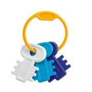 Chicco chiavi colorate azzurro per lo sviluppo della coordinazione manuale
