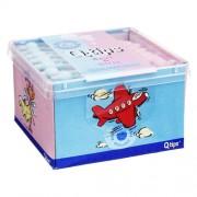 W. Pelz GmbH & Co. KG Q TIPS Baby Pflegestäbchen boys & girls Würfelbox 64 St