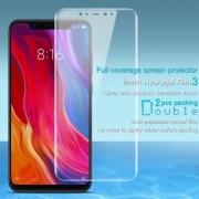 IMAK HD Hydrogel Protector képernyővédő fólia - 2 db, 0,15 mm, A TELJES KÉPERNYŐT VÉDI! - Xiaomi Mi 8 / Xiaomi Mi 8 Explorer / Xiaomi Mi 8 Pro - GYÁRI