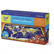 Puzzle Educativ, Descoperă Lumea şi Animalele