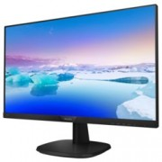 "Монитор Philips 243V7QSB, 23.8""(60.45 см) IPS панел, FullHD, 8ms, 200000000:1, 250 cd/m2, DVI, VGA"