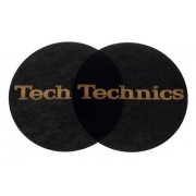 Technics Slipmat Black/Gold Logo