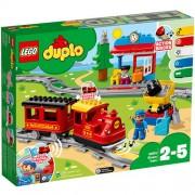 Set de constructie LEGO Duplo Tren cu Aburi