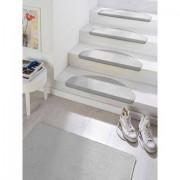 Hanse Home Tredemat, »Fancy«, HANSE HOME, trapvormig, hoogte 7 mm, machinaal getuft - 105.99 - grijs - Size: 15x 23x65 cm