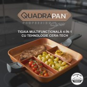 QuadraPan Professional - tigaia multifunctionala 4-in-1 cu tehnologie Cera-Tech