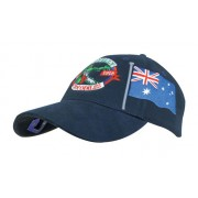 Headwear Professional 6 Panel HBC Cap With Aussie Bottle Opener Navy 4039