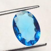 4.75 Ratti Best quality Blue Topaz stone Lab Certified
