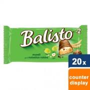 Balisto - muesli mix chocoladereep -20x 2 repen