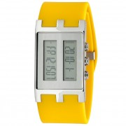 EOS New York Binary NU Watch Yellow/Silver 120SYELSIL