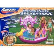 Enchanted Castle Princess Splash Pool With Seahorse Sprinkler