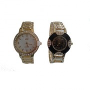 Vr series stylish desiener watch combo of two (latest collection)