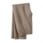 "HOAL Ormezzano Linen Trousers, 36""R - Sand"