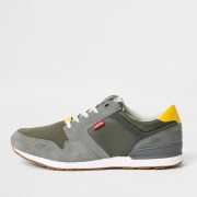 Levi's Mens Levi's Green runner trainers (Size 8)