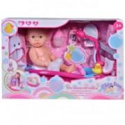 Set bebe jucarie accesorii cadita baie Tutu love