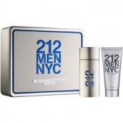 Carolina Herrera 212 NYC Men lote de regalo V. eau de toilette 100 ml + gel de ducha 100 ml