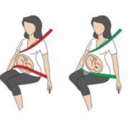 Centura Pregnant BeSafe iZi Fix