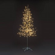 All Round Fun 6ft Champagne Tree with 312 Warm White LED Lights