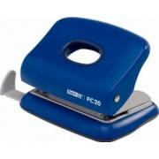 Perforator plastic RAPID FC20 20 coli - albastru