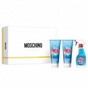 Moschino Fresh Couture 50ml Apă De Toaletă + 100ml Loțiune de corp + 100ml Gel de duș Set