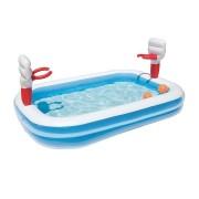 Bestway Inflatable Play Pool Kids Pool Swimming Basketball Play Pool