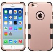 Funda Doble Protector Case Uso Rudo para iPhone 6s / 6 - Rose Gold