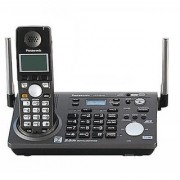Panasonic 2 line Cordless Phone KX-TG6700 base dial with answering Refurbished