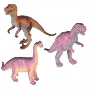 Realistic Looking Extra Large Dinosaurs Pack Of 12 Large Plastic Assorted Dinosaur Figures