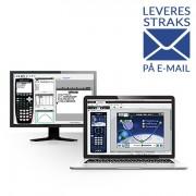 Texas Instruments TI Nspire CX CAS Elevprogramvara (1-års licens)