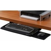 Suport negru tastatura pentru birou Deluxe Fellowes