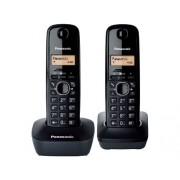 Telefon Panasonic KX-TG1612FXH, crna, Bežični, 24mj