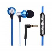 Audífonos Bluetooth Manos Libres Inalámbricos, Awei 950vi 3.5mm En El Oído Auricular De Voz De Voz Clara (azul)