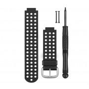 Bracelet de Remplacement Garmin Forerunner 220/620 Aproach S5/S6 Noire/Blanche