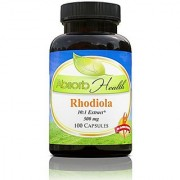 Rhodiola Rosea Extract 10:1 | 500mg | 100 Capsules | Endurance Support | Increase Strength and Endurance