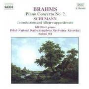 Schumann/Brahms - Piano Works (0636943408926) (1 CD)
