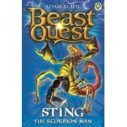 Beast Quest: Sting the Scorpion Man, Paperback