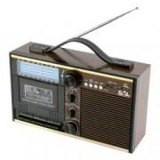 Radio casetofon portabil USB SD functie arhivare mp3 si caseta microfon Jack 3.5 mm
