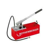 Pompa testare presiune instalatii manuala ROTHENBERGER RP 50 S / RP 50 S INOX RP 50-S Set de întreținere