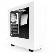 Кутия NZXT S340 Glossy White + Window Mid Tower, NZXT-CASE-S340W-W1