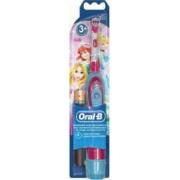 Periuta de dinti electrica pentru copii Oral-B powered by Braun D2010 9600 oscilatii 1 program 1 capat pentru Fetite