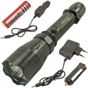 NEW Rechargeable 3 Mode Long Beam CREE LED Waterproof Torch
