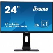 IIYAMA Monitor 24 XUB2493HS-B1 IPS,VGA,HDMI,DP,PIVOT DARMOWA DOSTAWA OD 199 zł !!