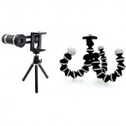 Telescope Mobile Lens and Gorilla Camera Tripod ||Telescope Lens|| Mobile Lens||Universal Mobile Lens ||Telescope Lens||Zoom Lens||So Best and Quality Compatible with all your devices XDR_426