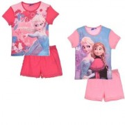 Disney Frost Set T-shirt med shorts (Ljusrosa, 5 ÅR - 110 CM)