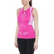 X-Bionic The Trick Running Hardloopshirt zonder mouwen Dames roze L 2017 Hardloopshirts