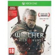 """The Witcher 3: Wild Hunt Day 1 Edition, Включва : Компактдиск с оригиналния саундтрак, Компендиум """"Witcher Universe – the Compendium"""", Красива, детайлна карта на света в играта, 2 стикера; за XBOX ONE"""