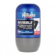 Rulla på deodorant Invisible Williams (75 ml)